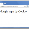 Cookies Login and Logout