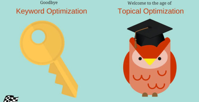 Goodbye Keyword Optimization — Welcome To The Age of Topical Optimization