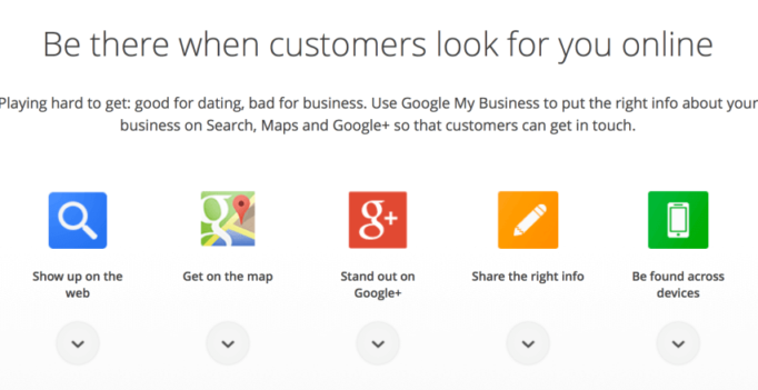 """New """"Google My Business"""" Simplifies Local Marketing For SMBs"""