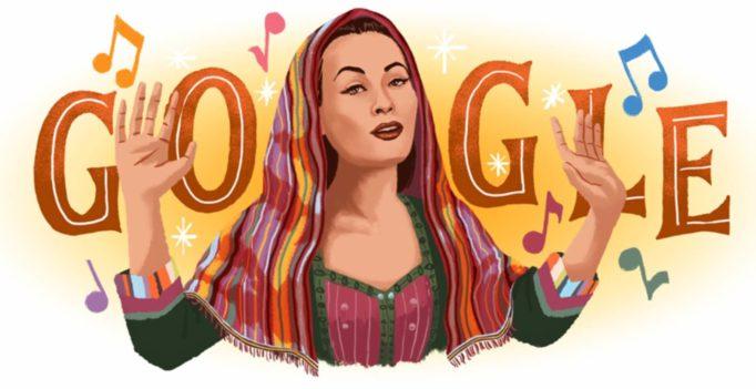 "Yma Sumac Google doodle celebrates the ""Peruvian Songbird"" soprano"