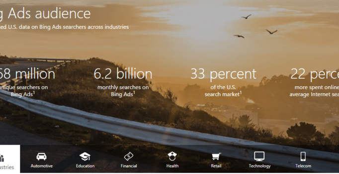 Bing Ads Releases Demographics & Reach Data Visualization