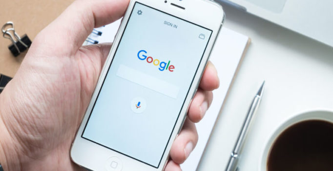 Google tests a 'back to top' button in the mobile search interface